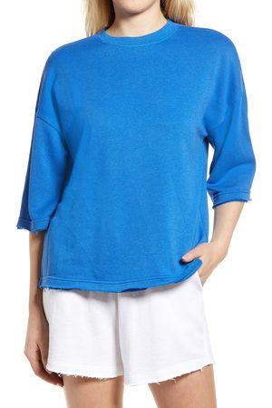 Treasure & Bond Women's Short Sleeve Sweatshirt