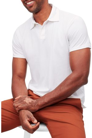 BONOBOS Men's Slim Fit Short Sleeve Performance Polo