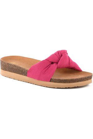 BC Footwear Women's Reunion Platform Slide Sandal
