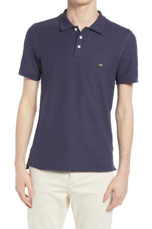 BILLY REID Men's Slim Fit Pima Cotton Pique Polo Shirt