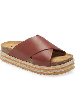 Chocolat Blu Women's e Lina Platform Slide Sandal