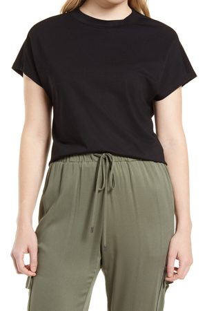 Halogen Women's Halogen Relaxed Stretch Cotton T-Shirt
