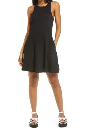 BP. Women's Sleeveless Rib Minidress