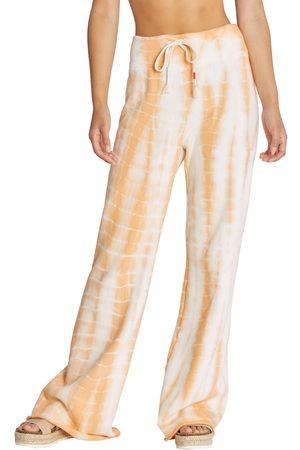 Wild Fox Women's Melon Wash Wide Leg Lounge Pants