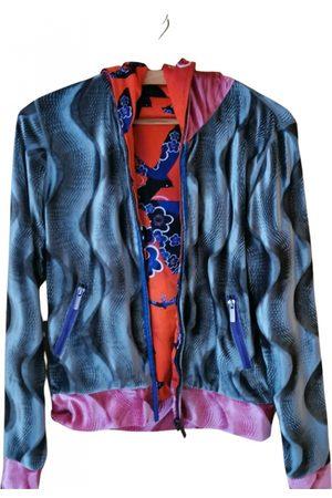 Custo Barcelona VINTAGE \N Velvet Leather Jacket for Women