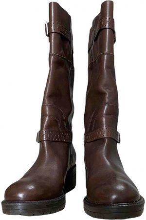 Verra Pelle \N Leather Boots for Women
