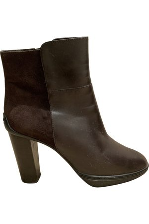 Tod's \N Leather Ankle boots for Women