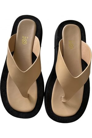 DUCIE \N Leather Sandals for Women