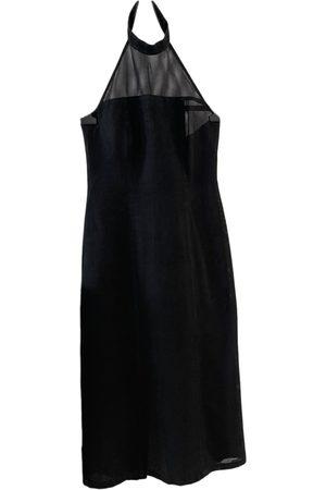 ALAIN MIKLI Linen mid-length dress
