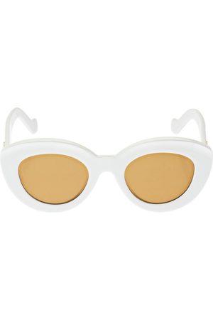 Loewe Women Sunglasses - Bolded Cat-eye Acetate Sunglasses