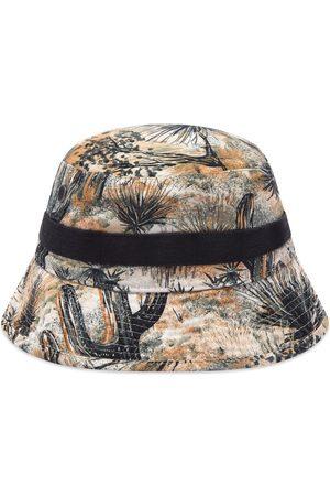 Acne Studios Brimmo Cactus Print Bucket Hat