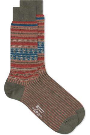 Ayamé Socks Men Socks - X Maharishi Jacquard Kilim Sock