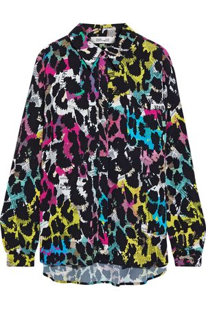 DIANE VON FURSTENBERG Women Long sleeves - Woman Lorelei Two Printed Crepe Shirt Size 4