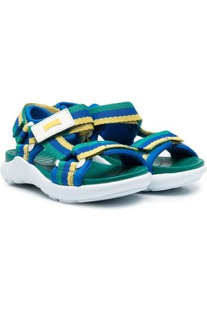 Camper Stripe touch-strap sandals