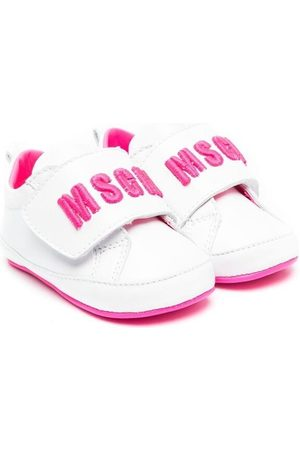Msgm Sneakers - Touch-strap logo sneakers
