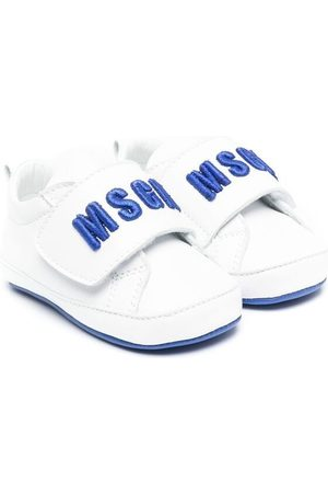Msgm Logo touch-strap sneakers