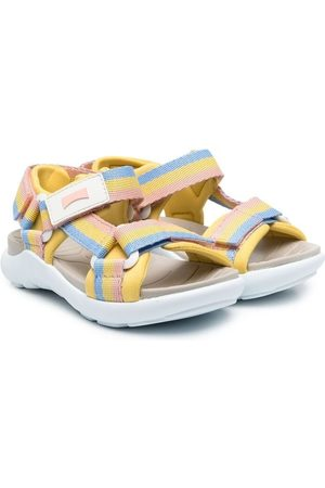 Camper Striped touch-strap sandals