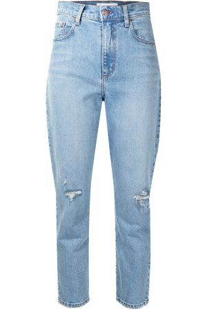 NOBODY DENIM Frankie high-waisted jeans
