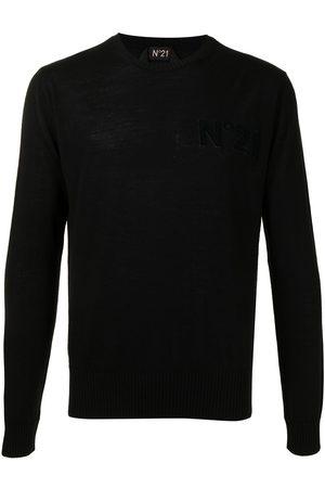 Nº21 Men Sweatshirts - Logo-patch jumper