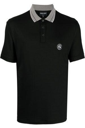 Giorgio Armani Contrast collar polo-shirt