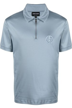 Giorgio Armani Short-zipped polo shirt