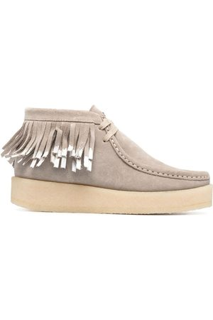 Clarks Ariadne Craft lace-up boots - Grey