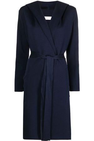 GENTRYPORTOFINO Hooded cardigan coat