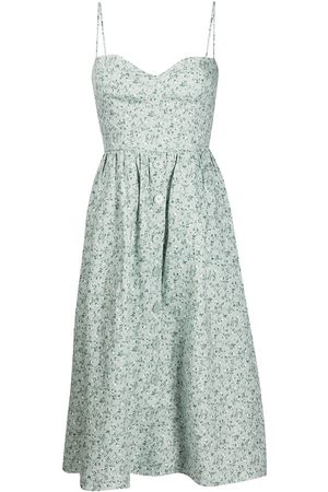 Reformation Women Printed Dresses - Cale floral-print midi dress