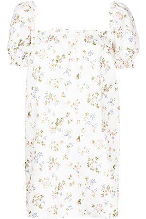 Reformation Women Party Dresses - Carsen floral-print mini dress