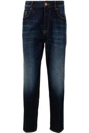 Emporio Armani Men High Waisted - High-rise slim-fit jeans