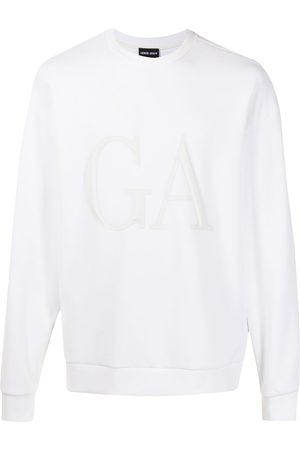 Armani Men Sweatshirts - Logo-print sweatshirt
