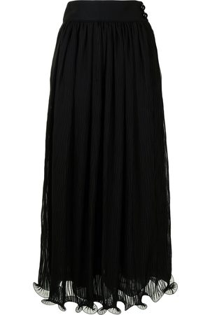 Armani High-waist ruffled skirt