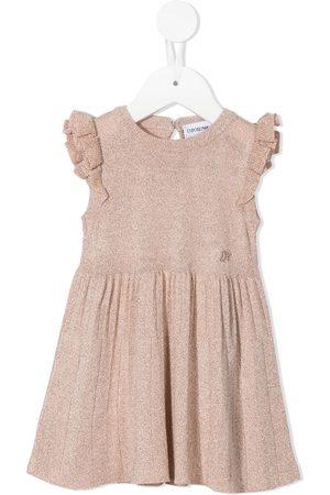 Emporio Armani Baby Dresses - Logo-embroidered dress
