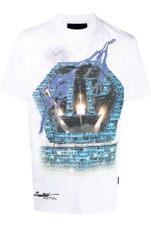 Philipp Plein Universe graphic-print T-shirt
