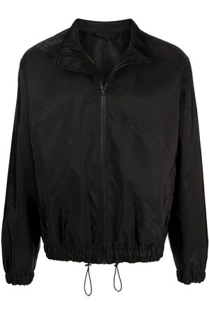 Helmut Lang Men Bomber Jackets - Logo-jacquard bomber jacket