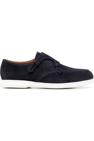 Doucal's Men Loafers - Monk-strap suede loafers