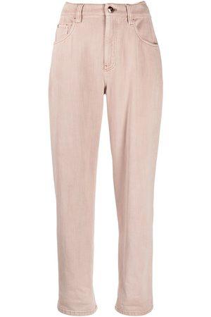 Brunello Cucinelli High-waist straight jeans
