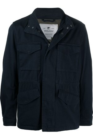 Woolrich Concealed cotton bomber jacket