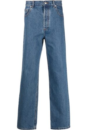 A.P.C. High-rise straight-leg jeans