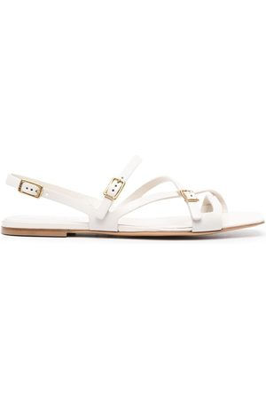Tod's Women Flat Shoes - Crossover-strap flat sandals