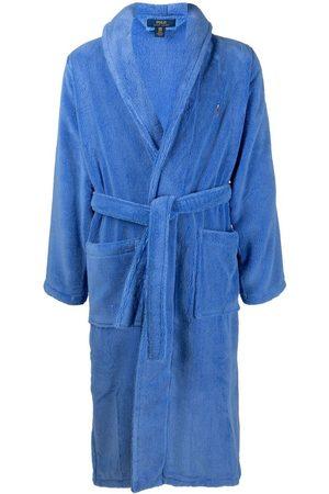 Polo Ralph Lauren Logo-embroidered cotton robe