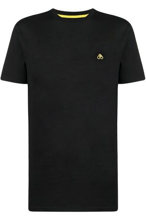 Moose Knuckles Embroidered logo cotton T-shirt