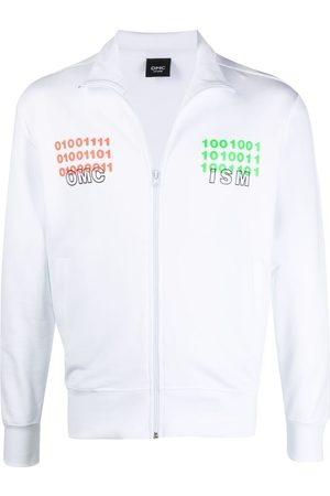 Omc Binary logo zip-up jacket