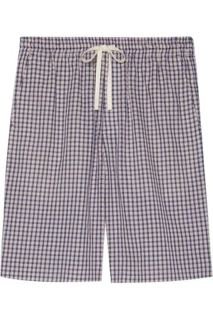 Gucci Check-print shorts