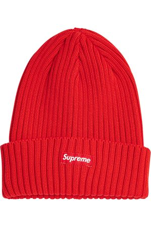 Supreme Overdyed ribbed knit beanie