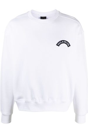 Paul & Shark Men Sweatshirts - Logo-patch cotton sweater