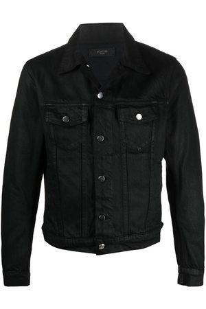 AMIRI Men Outdoor Jackets - Wax cotton denim jacket