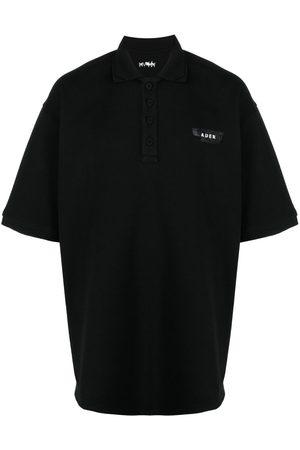 Ader Error Logo-embellished polo shirt