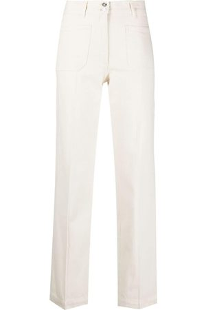 A.P.C. Patch-pocket straight trousers - Neutrals