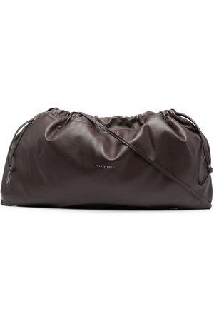 Studio Amelia Drawstring leather clutch bag